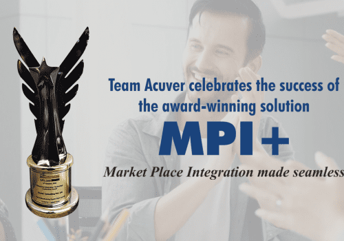 Acuver wins an Enterprise Integration Tech. Leadership Award